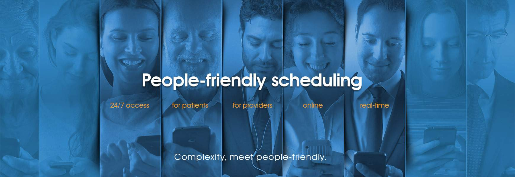 People-friendly scheduling